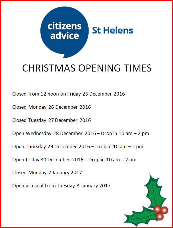 opening-times-poster-december-2016